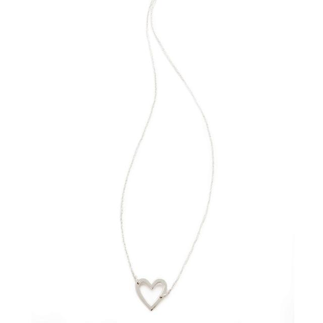 Jennifer Zeuner Jewellery Open Heart Necklace