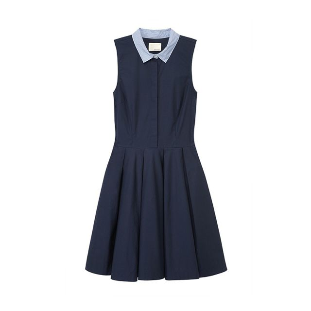 Band of Outsiders Cotton Poplin Dress