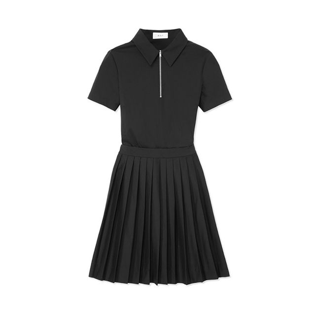 A.L.C. Gregory Pleated Shirtdress