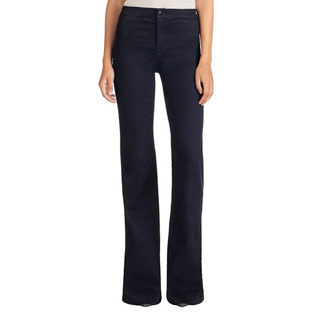 J Brand Tailored High Rise Flare in Inkwell