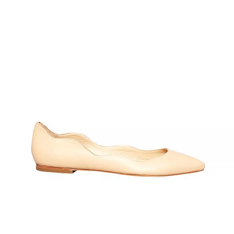 Pointed Toe Milla Wavy Flats