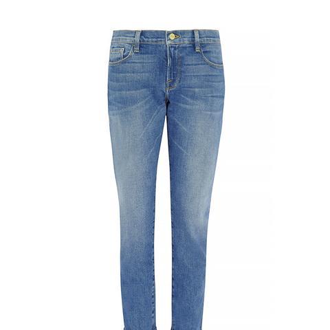 Le Garcon Mid-Rise Slim Boyfriend Jeans