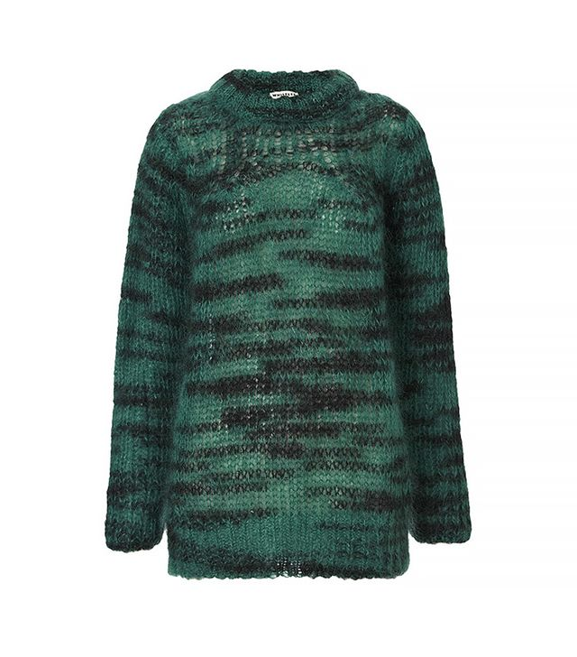 Whistles Corinne Space Dyed Mohair Knit
