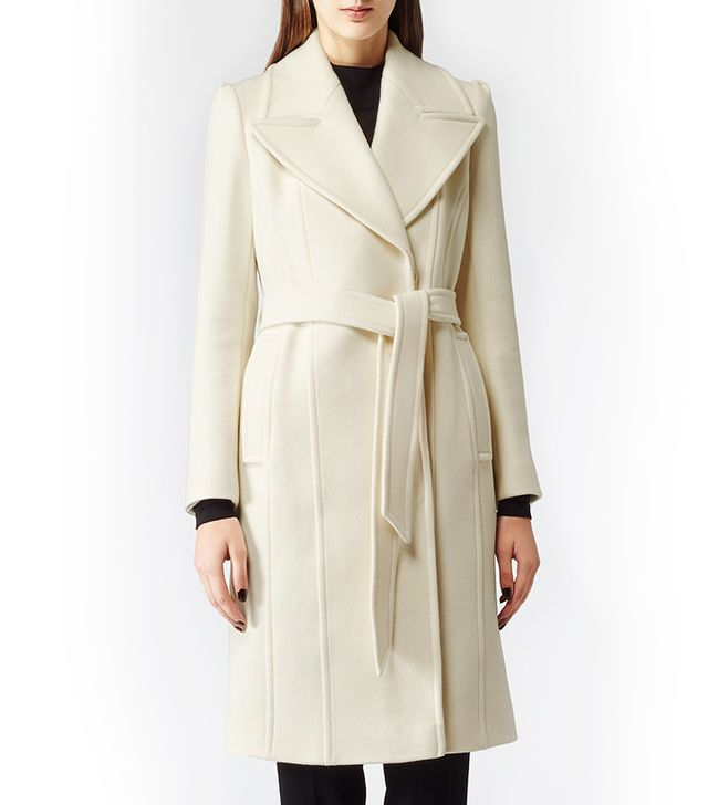 Reiss Envy Belted Tailored Coat