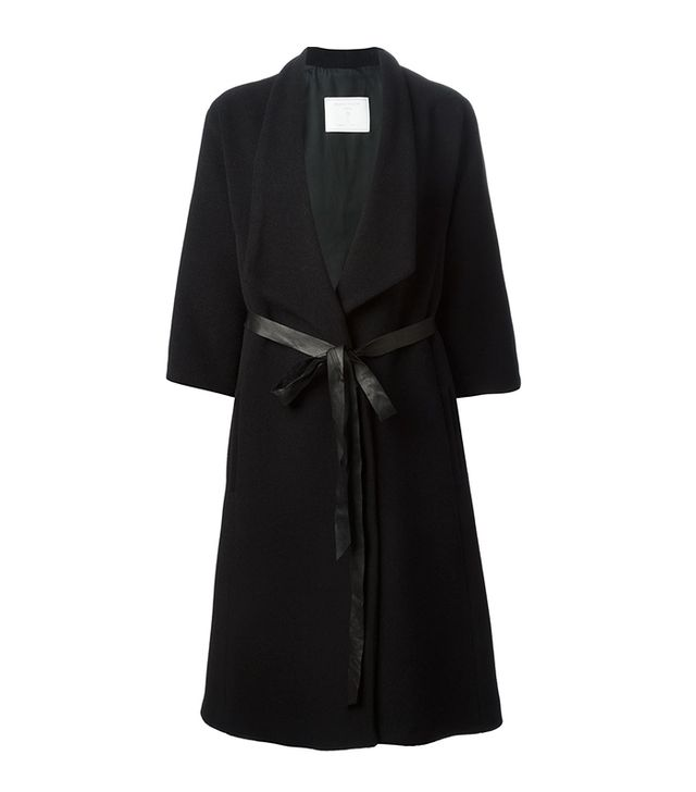 Societe Anonyme Belted Coat