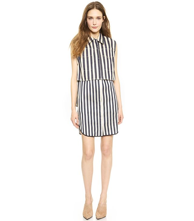 3.1 Phillip Lim Sleeveless Shirt Dress