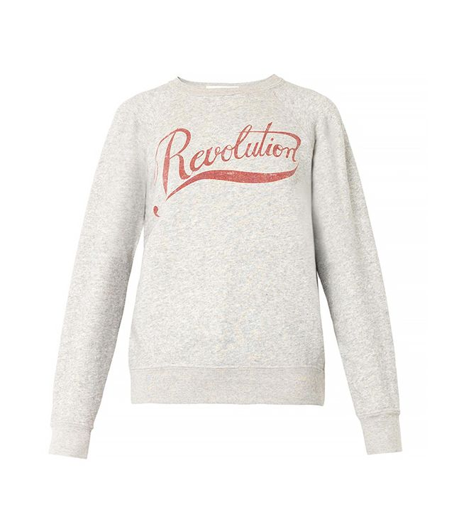 Isabel Marant Revolution-Print Sweatshirt