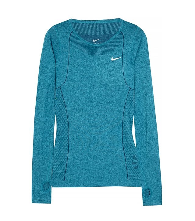 Nike Dry-Fit Knit Stretch Jersey Top