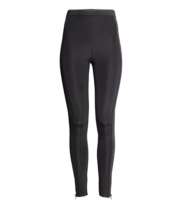 H&M Scuba-Look Leggings