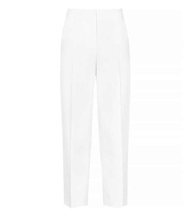 Reiss Luzia Check Textured Trousers