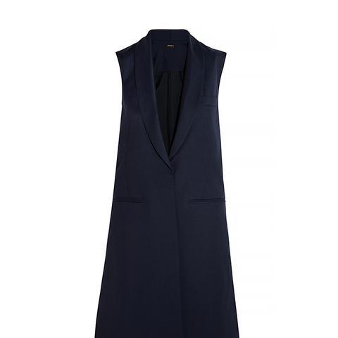 Wool-Twill Vest