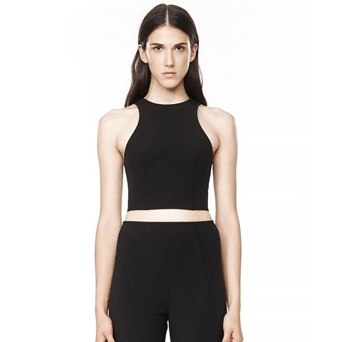 Stretch Tech Suiting Sleeveless Top ($