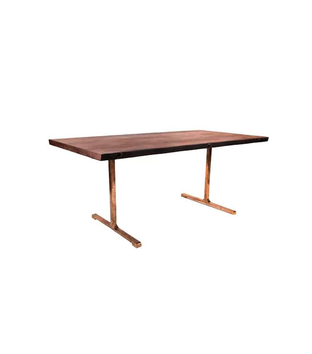 Organic Modernism Log T-Base Table