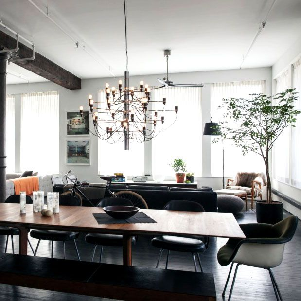 Tour An Industrial Loft Fit For A Family
