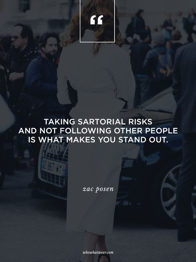 Are you a sucker for inspiring quotes? Us too! Head here to check out our top 50 fashion quotes of all time!
