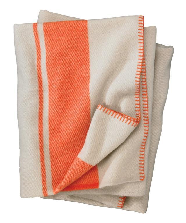Woolrich Woolrich Allegheny Throw Mandarin Stripe