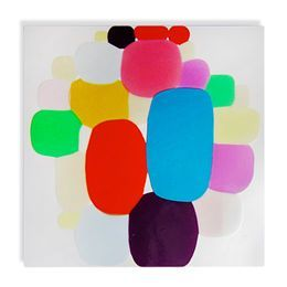 "Jim Oliveira ""Patchwork #18"" Painting"