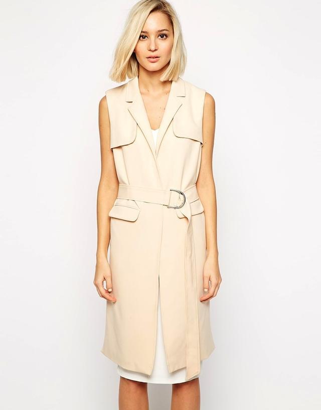 Lavish Alice Longline Belted Blazer