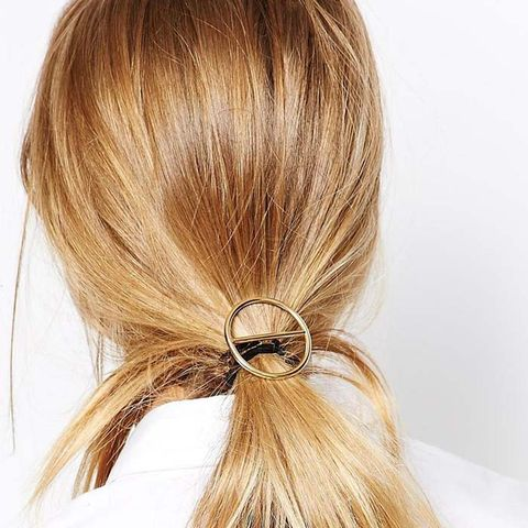 Open Circle Hair Tie