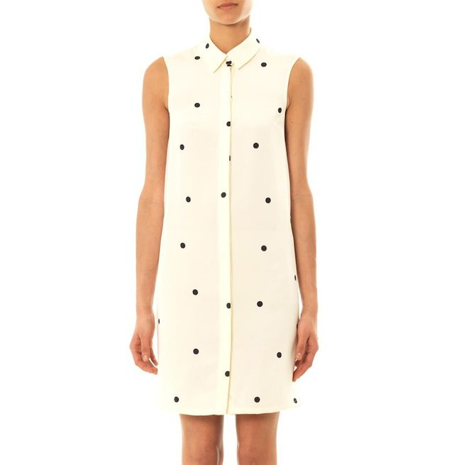 Sophie Hulme Polka-dot Silk Dress
