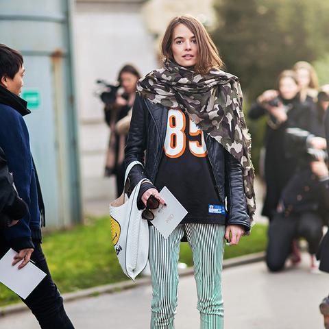 Stockholm Street Style scarf