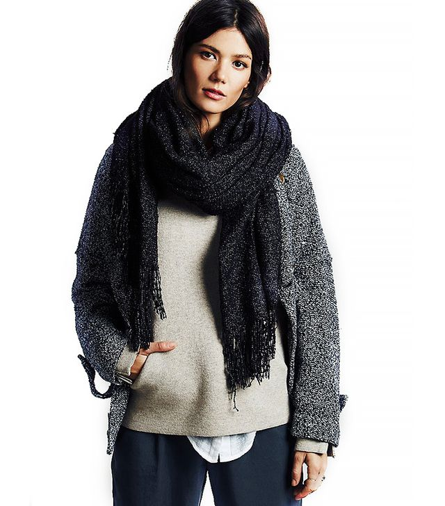 Free People Demi Boucle Oversized Scarf