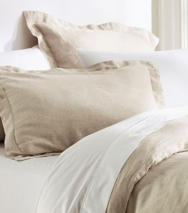 Pottery Barn Belgian Linen Bedding