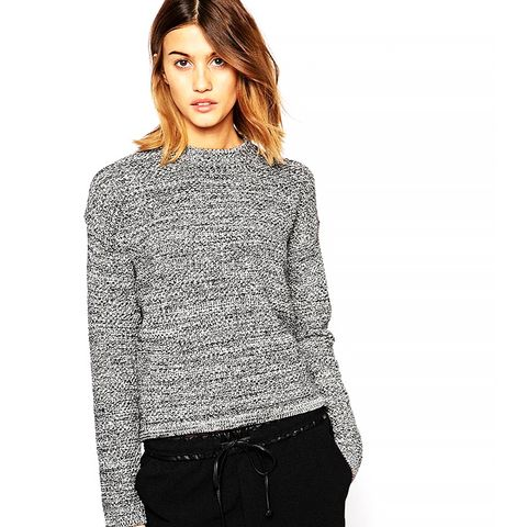 Chunky Knit Round Neck Jumper