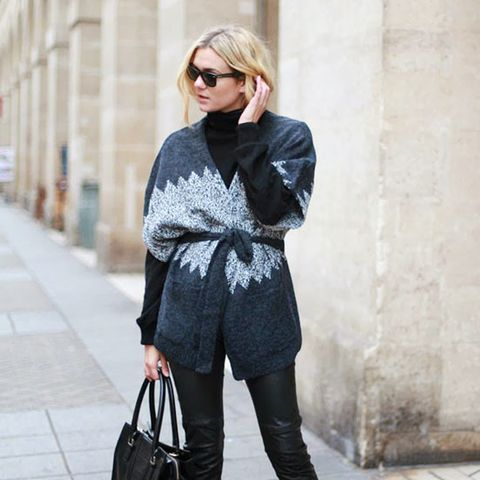 The Flattering Way to Wear a Turtleneck