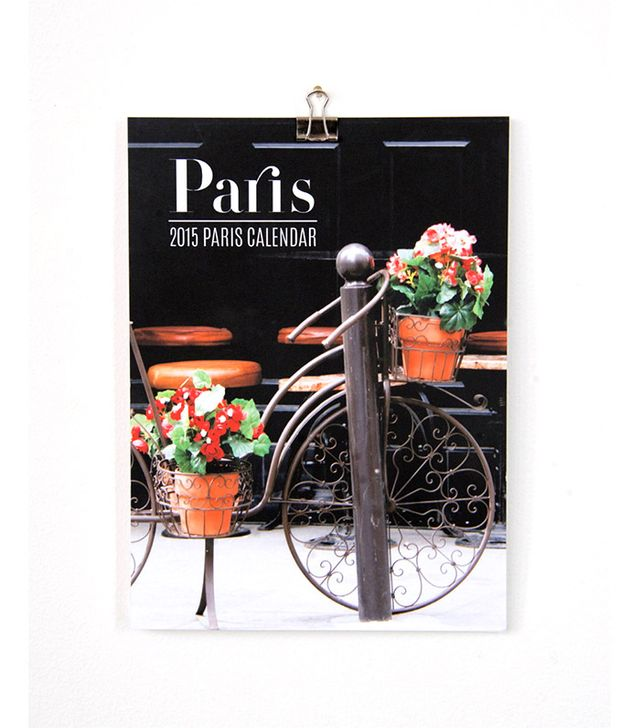 The Paris Print Shop Paris Calendar