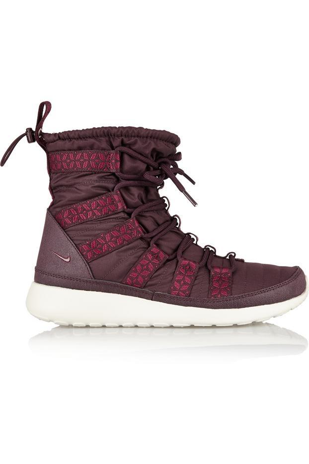Nike Roshe Run Hi Shell Sneaker-Style Boots