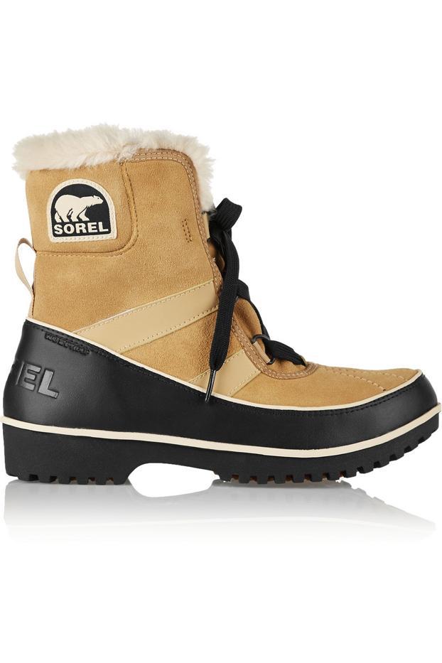 Sorel Tivoli II Waterproof Suede and Leather Boots