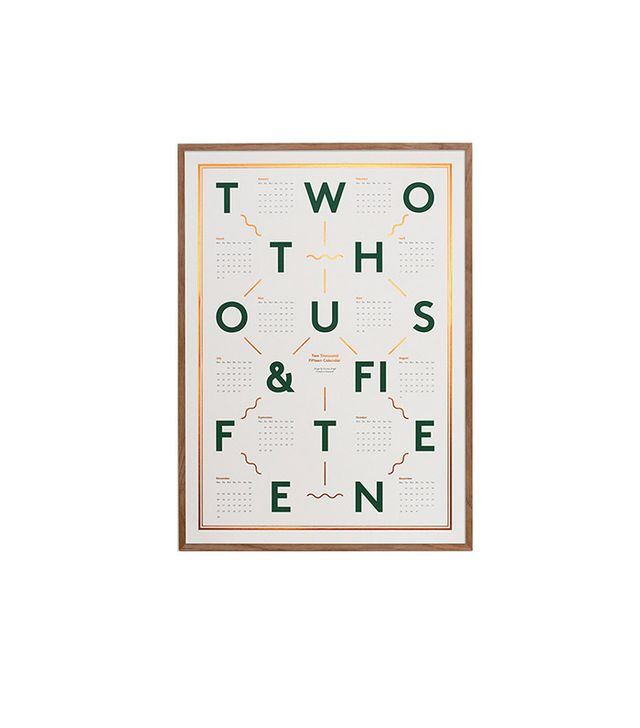 Kristina Krogh White, Green, & Copper 2015 Calendar