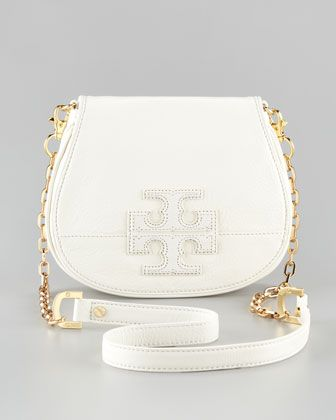Tory Burch   Stacked Logo Crossbody Bag