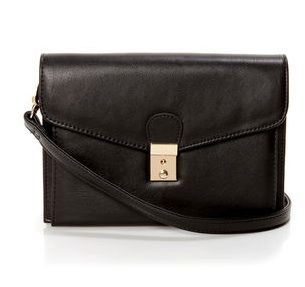 Lulus  Chic Music Black Purse by Urban Expressions
