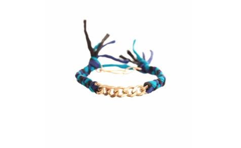 Ariel Gordon Ariel Gordon Silk Curb Bracelet