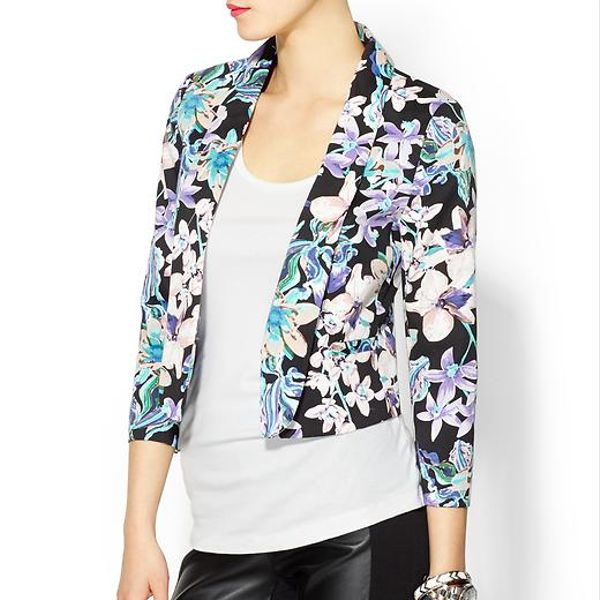 MM Couture Floral Print Blazer