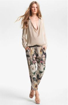 Haute Hippie  Draped Silk Blouse