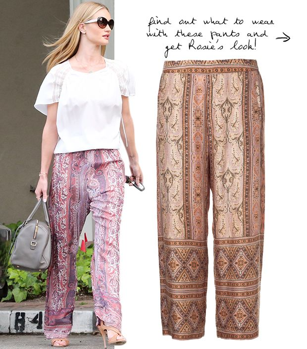How To Copy Rosie Huntington-Whiteley's Look