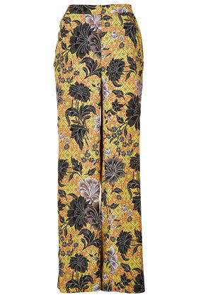 Topshop Safari Floral Trousers