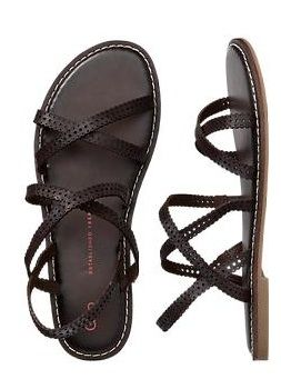 Gap  Perforated Multi Strap Sandals