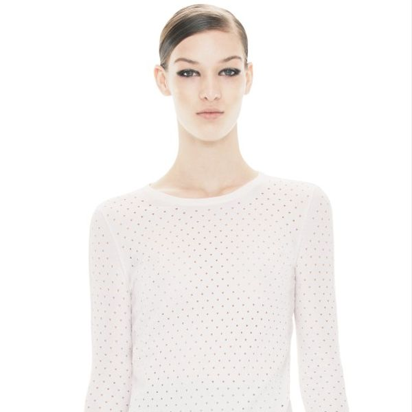 Acne  Marx Nylon White Top