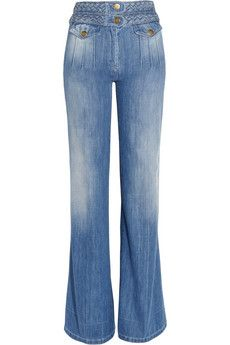 Chloe High-Rise Wide-Leg Jeans
