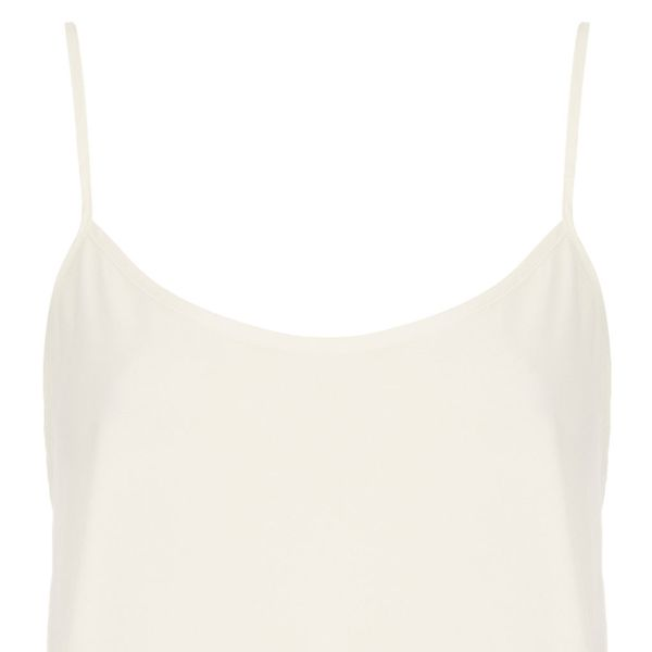Topshop Crop Strappy Cami Top