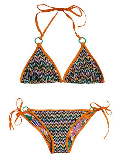 Missoni Mare Chevron Knit Bikini