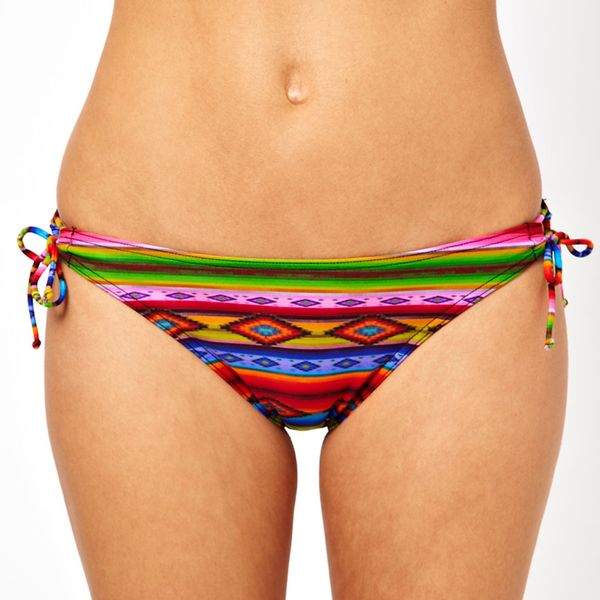 ASOS Blanket Print Loopside Bikini Pant