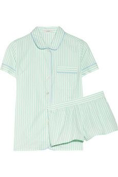 J.Crew  Striped Cotton Pajama Set