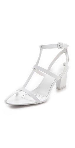 Alexander Wang  A-Line T-Strap Sandals