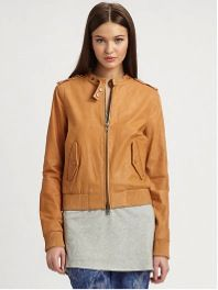 Rachel Zoe Rachel Zoe Jared Leather Biker Jacket