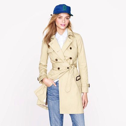 J.Crew Collection  J.Crew Collection Icon Trench